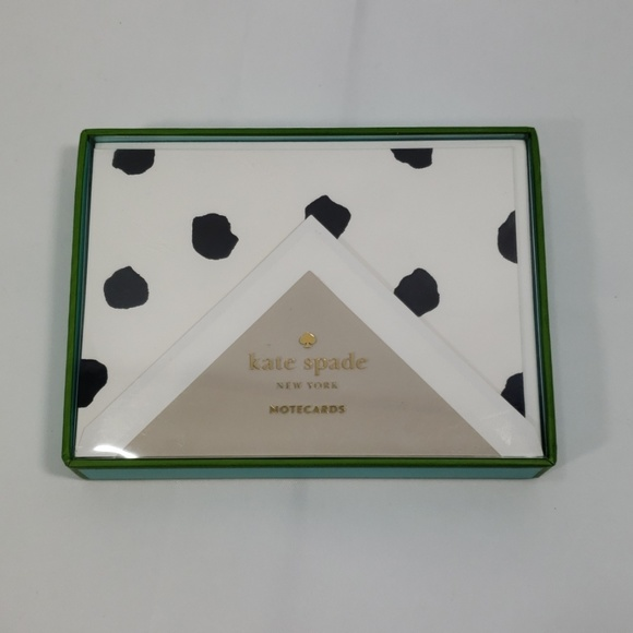 kate spade Other - Kate Spade- Spotty Dot Card  Set (set of 1…